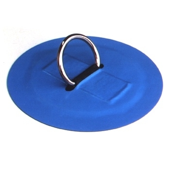 #120SS - 1.5'' SS D-Ring, 6.5'' Hypalon apron | Hypalon Tie-Downs and Accessories