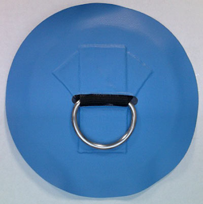 #140SSV - 2'' SS D-Ring, 8'' Vinyl apron (crow's foot) | Master Product List