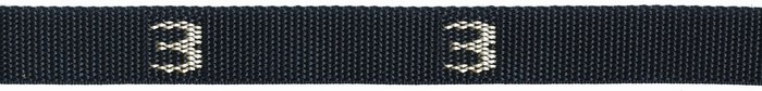 608# - Cam, Polyp Strap with # woven in, 8 ft. long (picture shows 3 ft strap) | 1 Inch Polypro Strap & Buckle