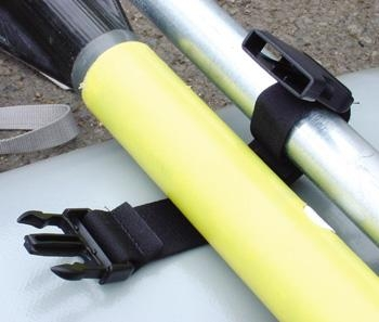 #434 - Spare Oar Strap, pair (Elastic) | Oar Straps and Tethers