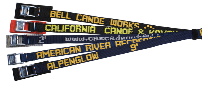 608CW - Cam buckle, Polypro Strap with Custom Web, 8 ft. long | 600CW Series Straps