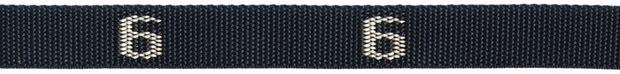 606# - Cam buckle, Polypro Strap with # woven in, 6 ft. long | 600# Series Straps