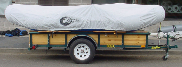 #1202 - Inflated Raft Storage/Travel Cover/12'-13'-w/Tie-Down | Raft Storage and Travel Covers