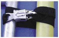 CO11 - Spare Oar Holder w/Panic Snap, pair | Oar Straps and Tethers