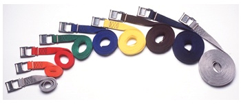 608CC - Cam buckle, 1 in. Polypro Strap, 8 ft. long | 1 Inch Polypro Strap & Buckle