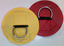 #130SSV -2'' SS D-Ring, 6.5'' Vinyl Apron (crow's foot)