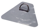 #151SS - 2'' SS D-Ring, 8.5'' X 10'' Triangular Hypalon