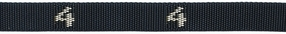 601# - Cam buckle, Polypro Strap with # woven in, 1 ft. long | 600# Series Straps