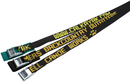603CW - Cam buckle, Polypro Strap with Custom Web, 3 ft. long