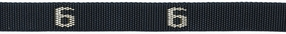 606# - Cam buckle, Polypro Strap with # woven in, 6 ft. long