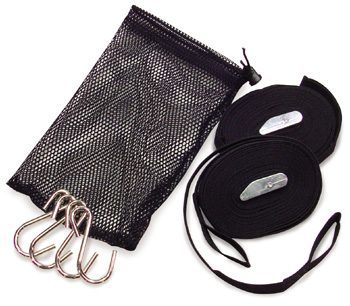 #850 - Bow & Stern Tie-Down Kit | 1 Inch Nylon Strap & Buckle